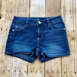 Justice denim jeans shorts 14S